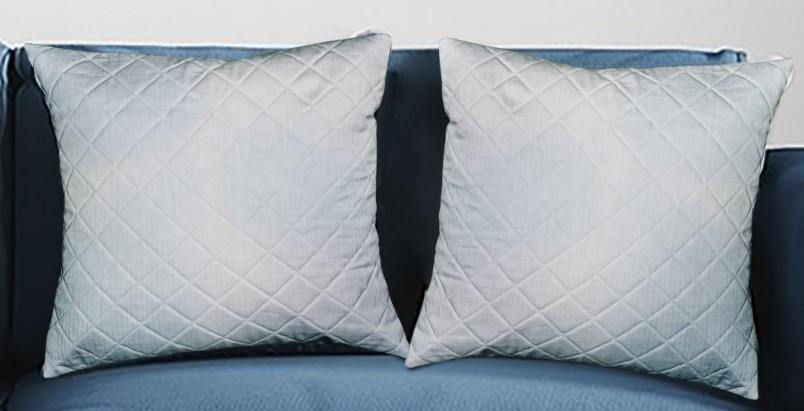 Meraki Reversible Quilted Cushion Cover - Hemis