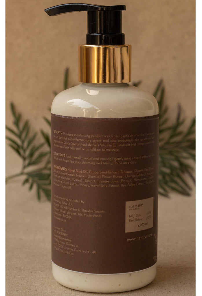 Grapes, Tuberose & Hemp Oil Body Lotion - 200ML