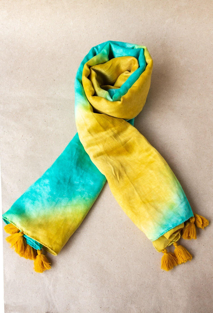 Tie and Dye Scarf - Hemis
