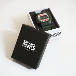 P/S GREEN CHECKERED WATCHES