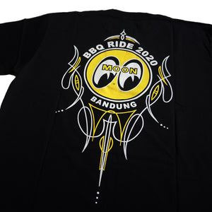 T- SHIRT BBQ RIDE X MOONEYES