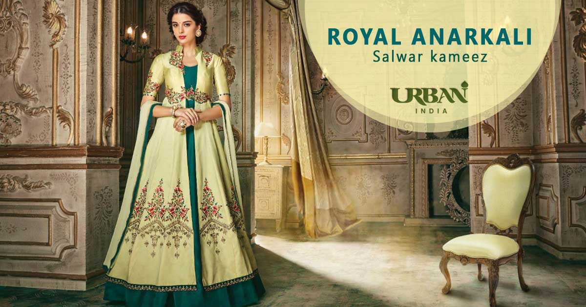 Anarkali Salwar Suit - The Touch of Royalty
