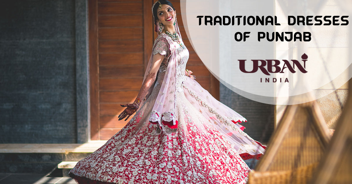 Traditional Dresses of Punjab for Women