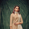 Beige Color Silk Kurti With Dupatta And Inner