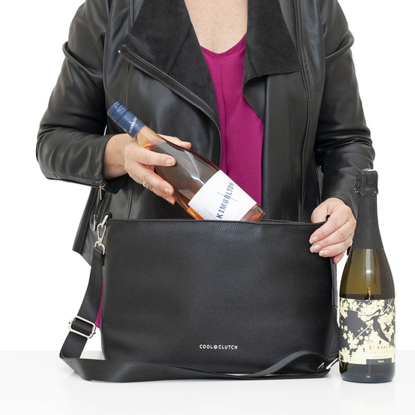 Polly Cool Clutch Cooler Insert - Cool Clutch cooler bag handbag insulated wine lunch handbags