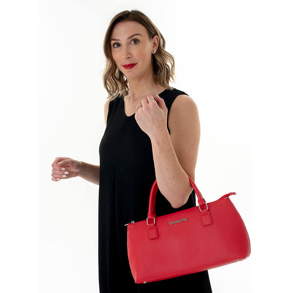 Carrie Cool Clutch (Red) Cooler bags - Cool Clutch cooler bag handbag insulated wine lunch handbags
