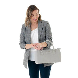 Dorrie Cool Clutch (Grey) Cooler bags
