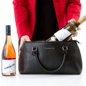 The Kate Cool Clutch holds 2 bottles of wine