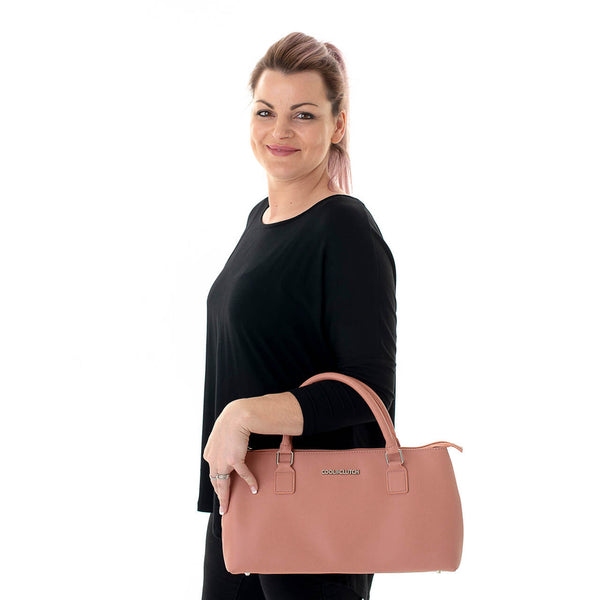 Katrina Cool Clutch (Blush) Cooler bags - Cool Clutch cooler bag handbag insulated wine lunch handbags