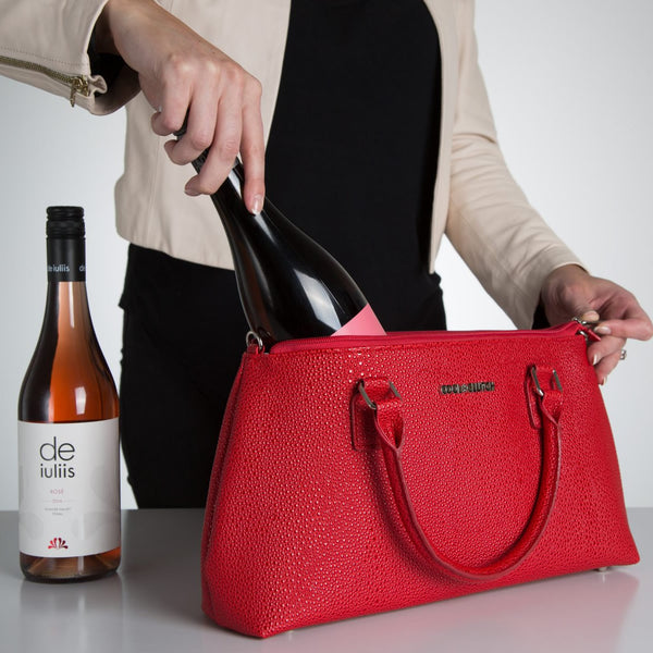 Kerry Cool Clutch (Red) Cooler bags - Cool Clutch cooler bag handbag insulated wine lunch handbags