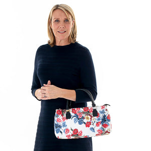 Poppy Cool Clutch (Red & Blue Flowers) Cooler bags