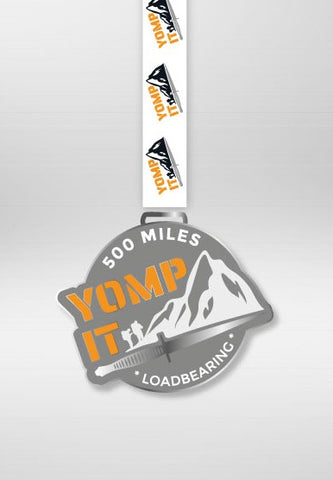 COMING SOON 500 Mile Vitual LOADBEARING Distance Challenge