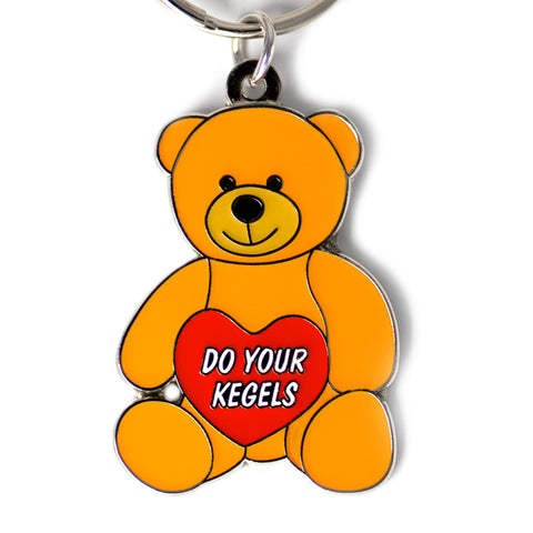 Hollabears Do Your Kegels Keychain