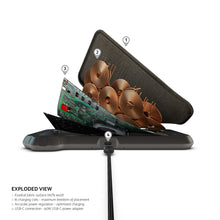 Load image into Gallery viewer, ZENS Liberty 16 coil Dual Wireless Charger (Fabric) + gift