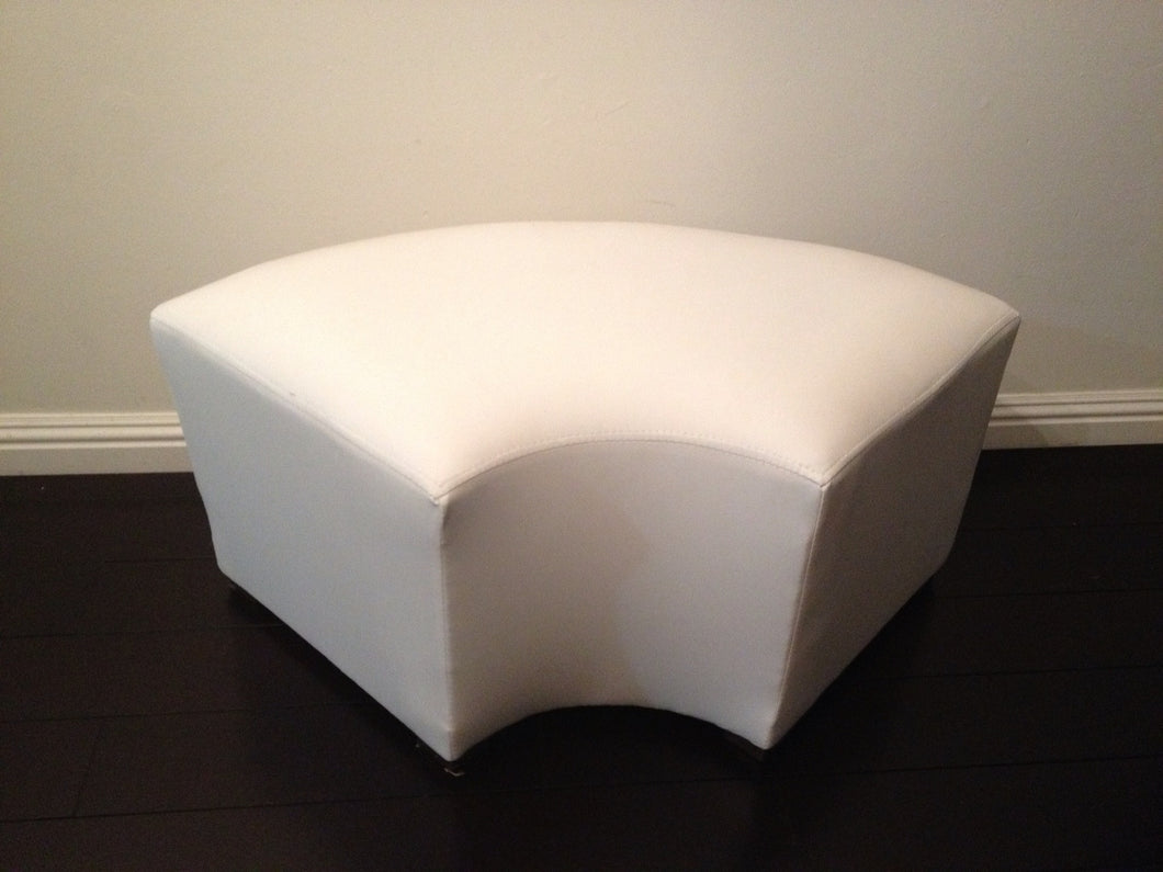ELBOW OTTOMAN / Curved Bench  / Curved Ottoman  33