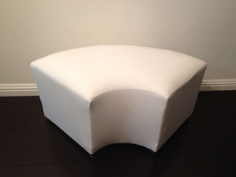 $50     ELBOW OTTOMAN / 2 People