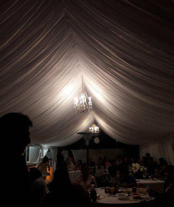 TENT DRAPING -  Please call for prices