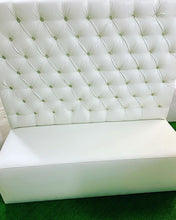 Load image into Gallery viewer, Tufted BRIDE & GROOM Love seat Sofa / High Sofa / THRONE Sofa / XV Throne / Sweet16 Throne