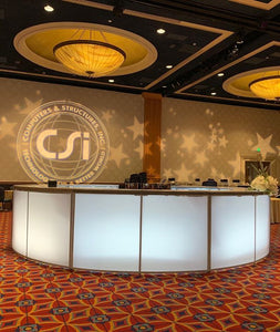 Led CURVED Lighted Bar 6'