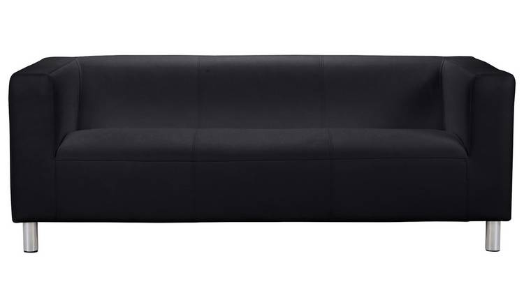 Black Sofa MATE VELVET 7'