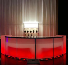 Load image into Gallery viewer, TUFTED LED Lighted BAR  7' x 4'  ( Changing Colors )