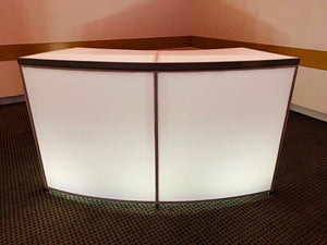 LED Curved BAR & Rack  12'  ( 3 pcs )