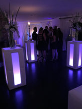 Load image into Gallery viewer, Led Tufted Lighted Cocktail Table  (Changing Colors)