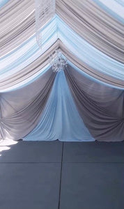 TENT with DRAPING  -  Click for Prices