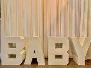 BABY   Sign / Table