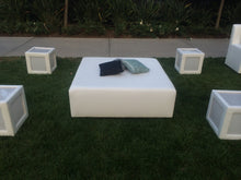 "Load image into Gallery viewer, Square BED / Square Ottoman  48""x48"""