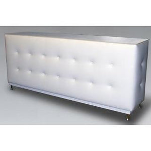 LED Lighted TUFED WHITE  BAR  6.5'