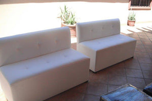 LG Armless Sofa - Loveseat 53""
