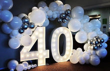 Load image into Gallery viewer, LIGHTED Marquee Numbers 4'
