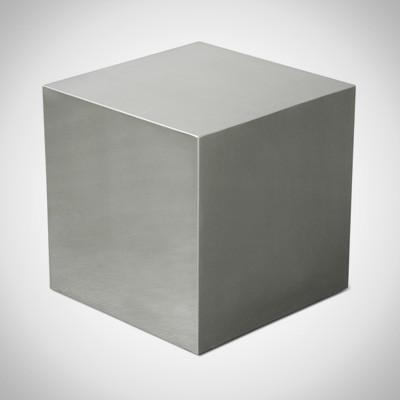 SILVER Cube Plexiglass / Side Table / Coffe Table  19