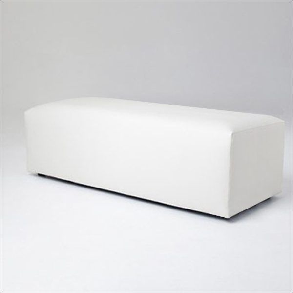 MD RECTANGULAR OTTOMAN - Bench  43