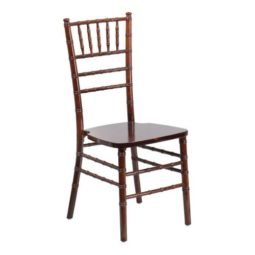 CHIAVARI CHAIR - MAHOGANY Fruitwood