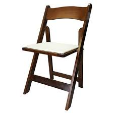 FRUITWOOD  WOOD PADDED CHAIR