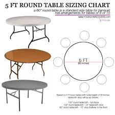 ROUND TABLE 60INCH
