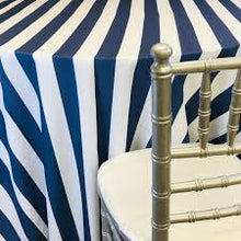 Load image into Gallery viewer, Round Tablecloth - STRIPE