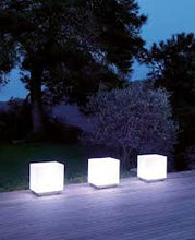 "Load image into Gallery viewer, LED CUBE / Lighted CUBE 16"" x 16"" (Changing Colors)"