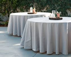Round Tablecloth - POLYESTER 120""