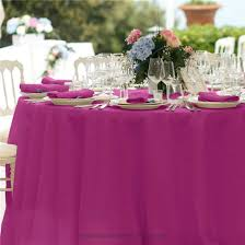Round Tablecloth - POLYESTER 132""