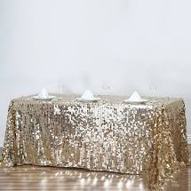 Load image into Gallery viewer, Rectangular Tablecloth - SEQUINS