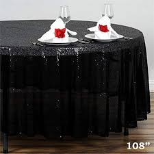 Round Tablecloth - SEQUINS