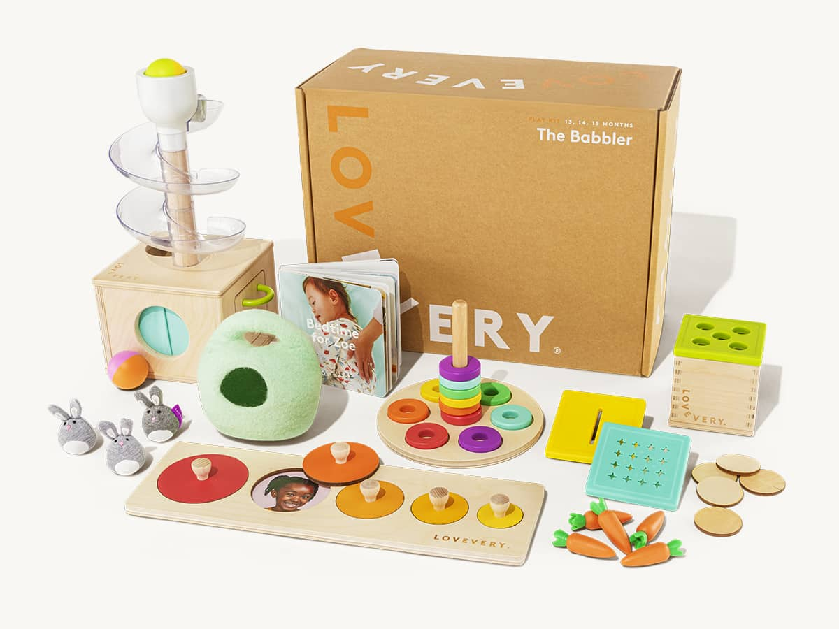 The Babbler Play Kit | Toys for 1-Year Olds | Lovevery