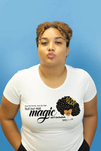 "Load image into Gallery viewer, <span class=""kws"">Black Girl</span> Magic T-shirt"