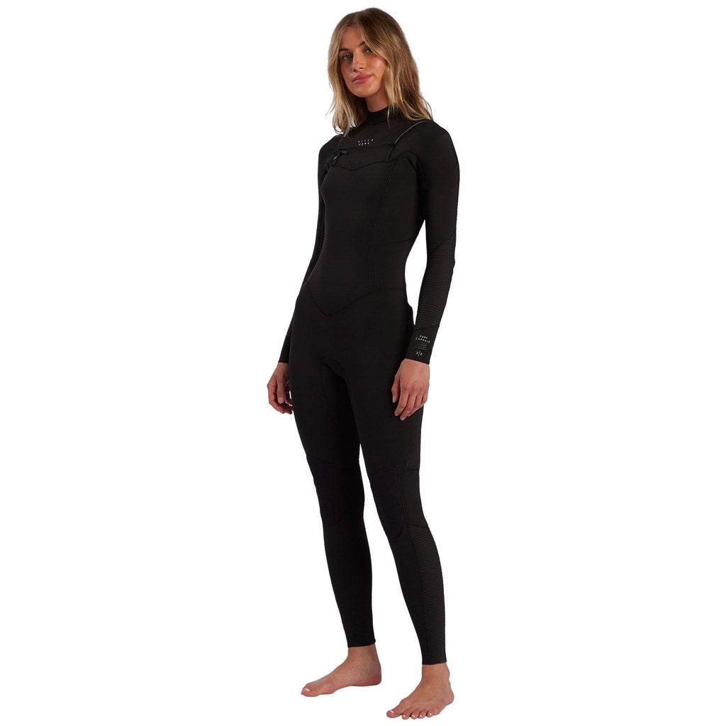 Billabong Womens Salty Days Fullsuit 3/2 Black Womens Wetsuits Billabong