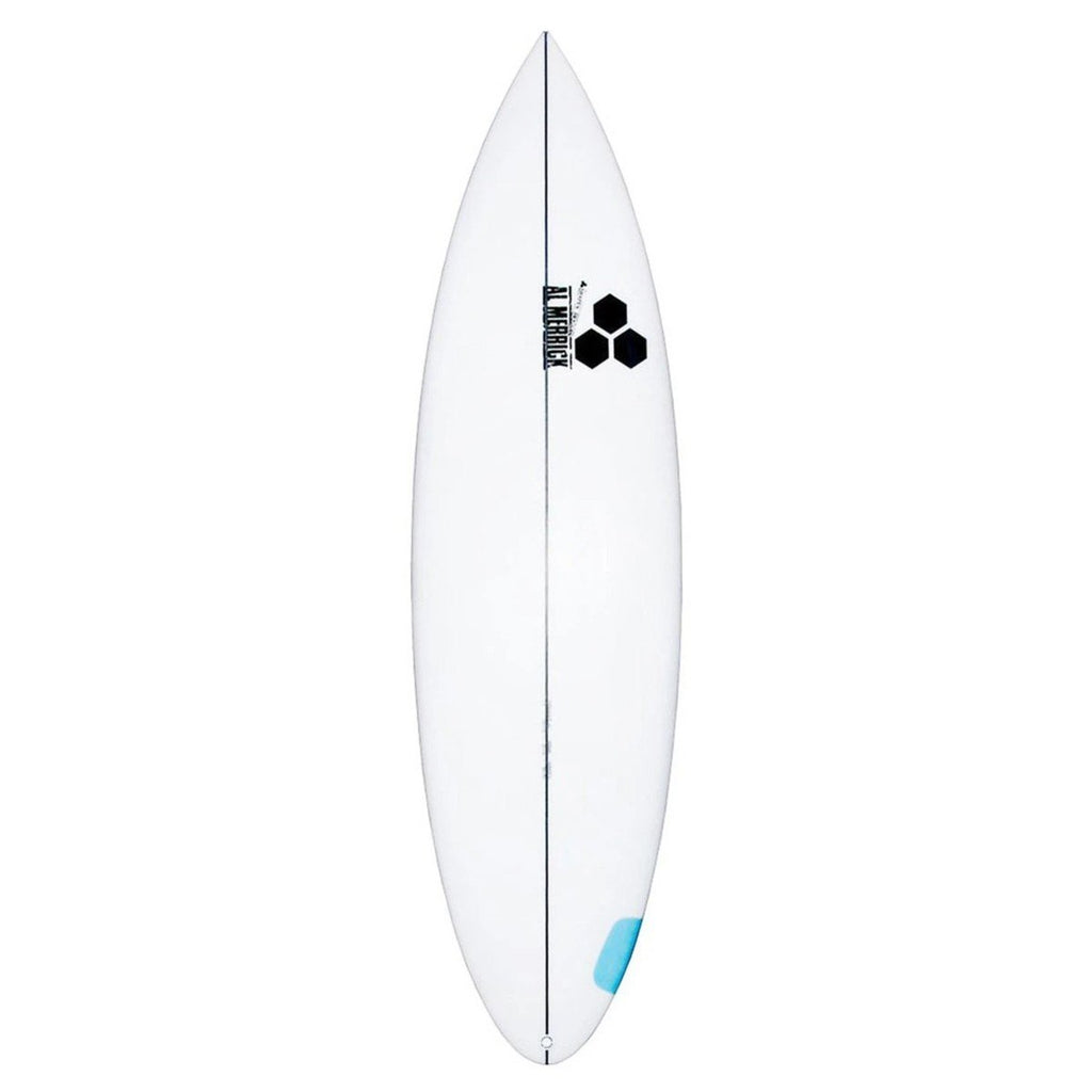 "Channel Islands Happy Round Tail Surfboards Channel Islands 5'8"" x 18 1/4"" x 2 3/16"" 23.4L FCSII"