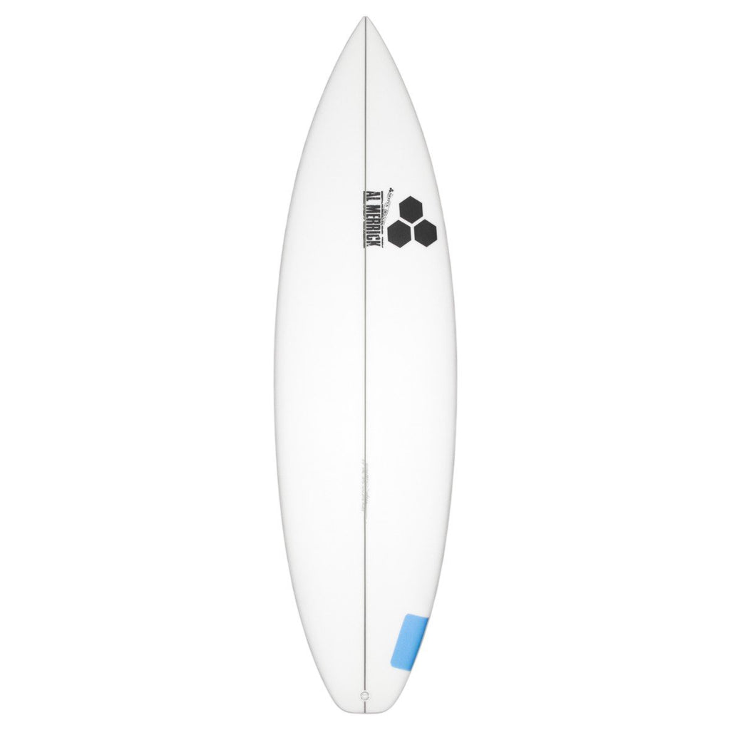 "Channel Islands Happy Surfboards Channel Islands 5'8"" x 18 1/4"" x 2 3/16"" 23.4L FCSII"