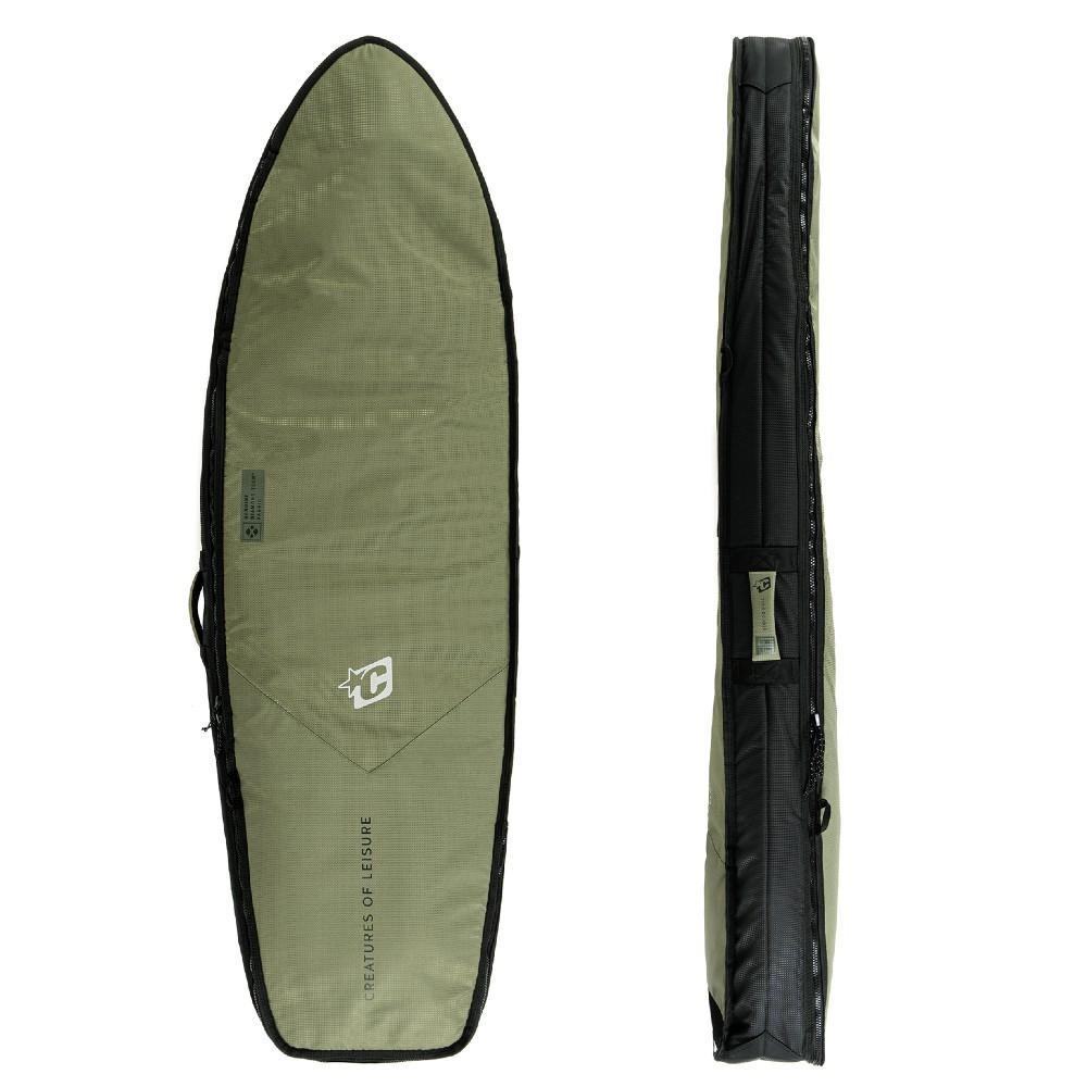 Creatures Of Leisure Fish Double DT2.0 Boardcover Military Black Boardbags Creatures Of Leisure 5'10""